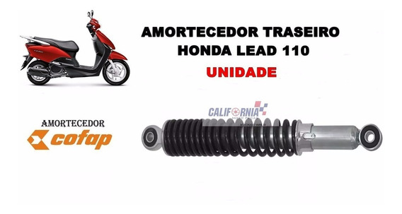 Amortecedor Honda Cofap Lead110 Traseiro (unidade) Lead 110