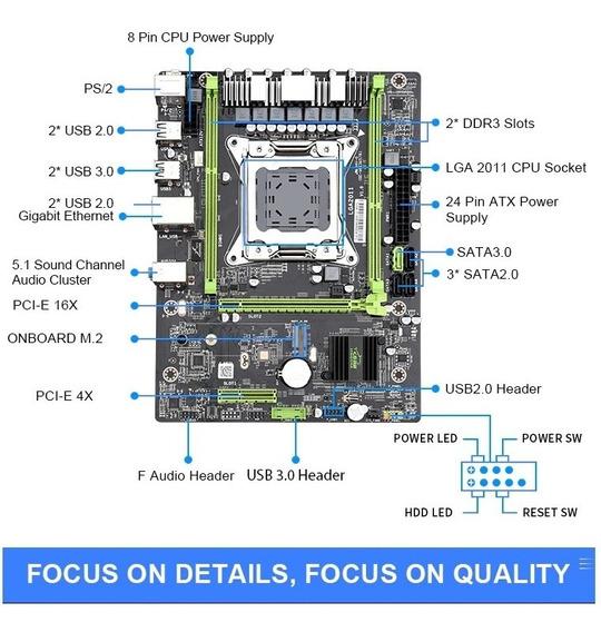 Kit Gamer Xeon 2660, Placa Mãe, 1x16gb 1600mhz E Cooler