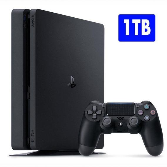 Playstation 4 Slim 1 Tb Sony Ps4 + Nfe