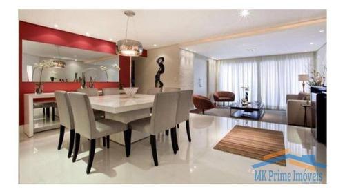 Imagem 1 de 15 de Lindo Apartamento De 165m² Em Alphaville/sp. - 871