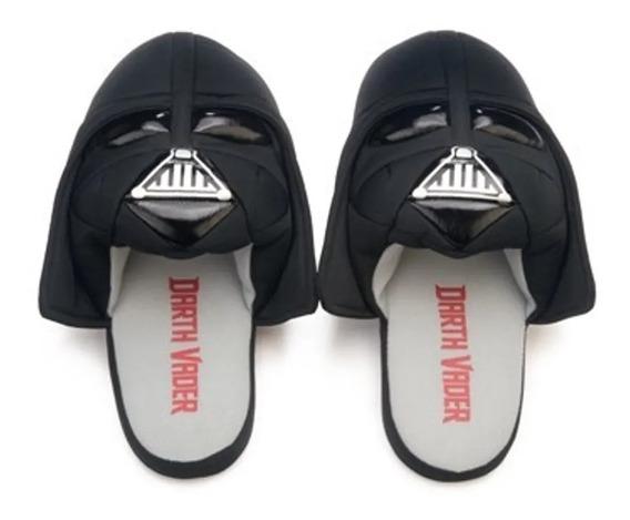 Pantufa Chinelo Darth Vader Star Wars Original 3d