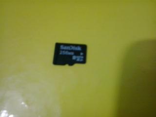 Cartão De Memória 256 Mb - Leia A Descrição !!
