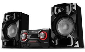 Mini System Panasonic 580w Bluetooth Cd Usb Sc-akx440lbk