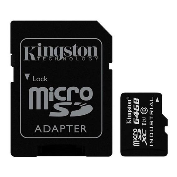 Cartão Memória Kingston Industrial Temperature 64gb Classe10