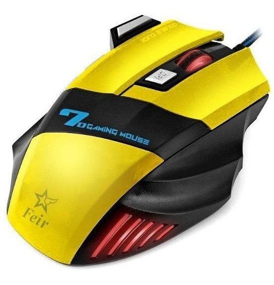 Mouse Gamer Jogos Pc Led Rgb Usb Profissional - Barato