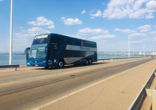 Imagem 1 de 8 de Ônibus Busscar Dd Ano 2000 Scania