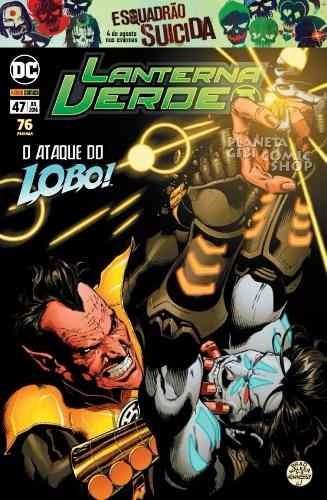 Hq Dc Comics Gibi Book Lanterna Verde O Poder Do Lobo 47