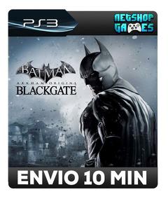 Batman: Arkham Origins Blackgate - Psn Ps3 - Envio Imediato
