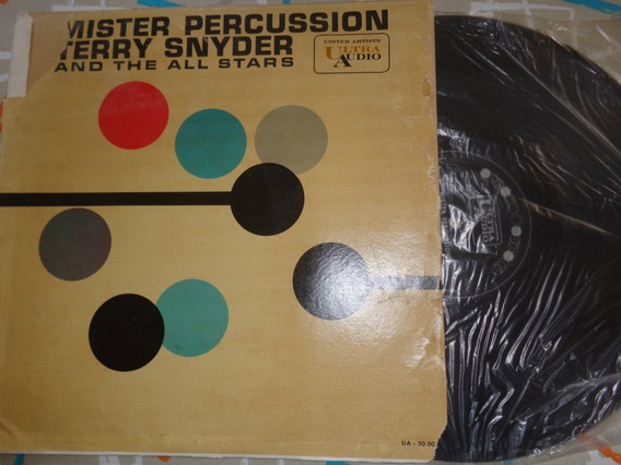 Lp Terry Snyder - Mr Percussion