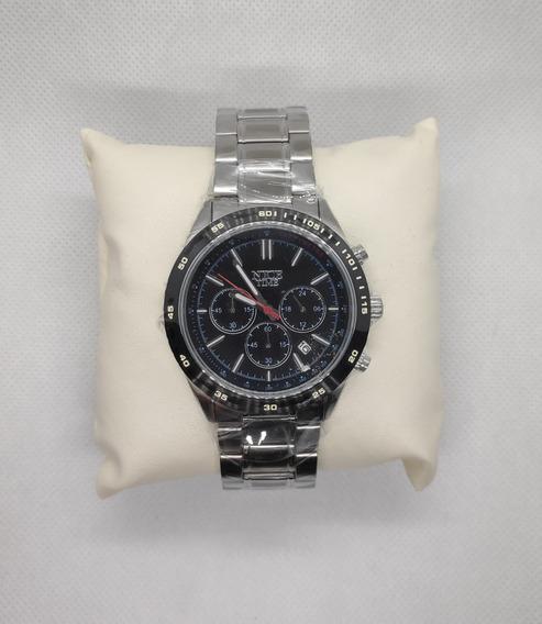 Reloj Nice Time Caballero Cronografo Original Nuevo Liquidac