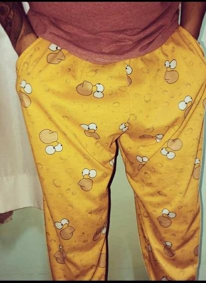 Pantalon Pijama Hombre Homero