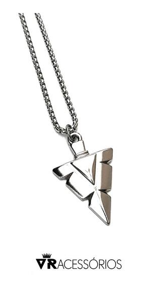 Colar Ponta De Flecha Silver Corrente Aço Inox 316l (prata,
