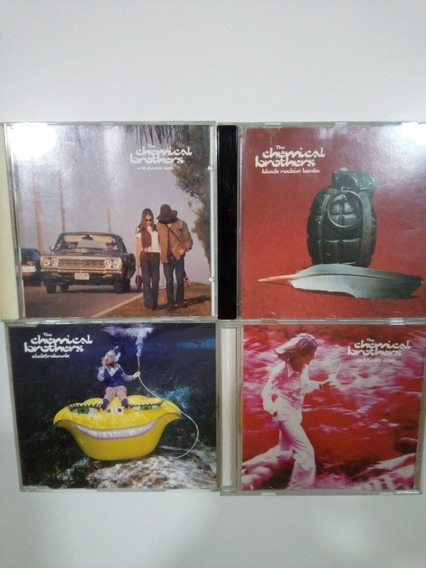 4 Cds The Chemical Brothers