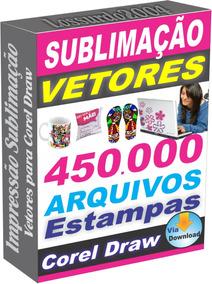 Pacote 450.000 Artes Sublimação Envio Grátis Por Download