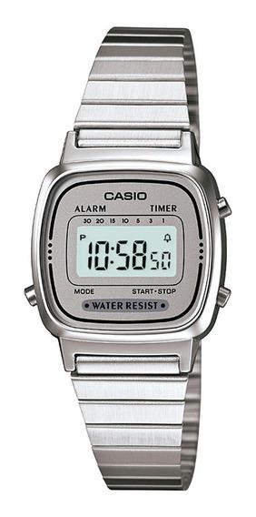 Relogio Casio La-670 Fem Retrô Vintage Alarm La670 Nf Origi