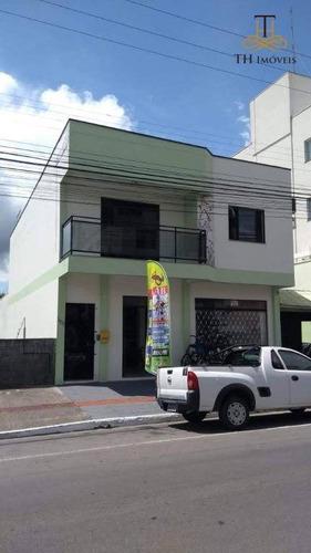 Imagem 1 de 23 de Casa De 2 Andares Mobiliada Com Sala Comercial, Apartamento, Salão De Festas E 05 Vagas De Garagem No Centro De Balneário Camboriú - Ca0094