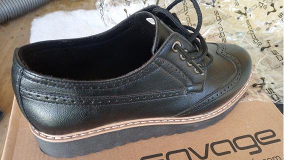 Zapatos Savage Acordaados Dama 37