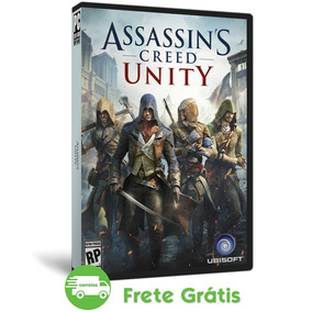 Assassins Creed Pc Unity + Todas Dlc Português Mídia Física