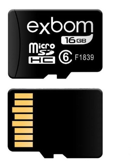 Cartão Micro Sd 16gb Para Celular Tablet Câmera Ip Barato