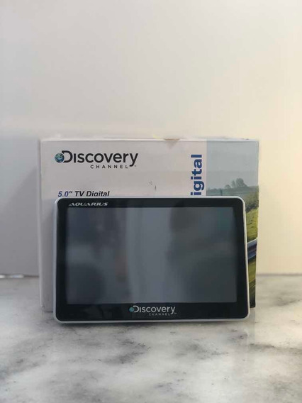 Gps Tv Digital Automotivo Aquarius Discovery Channel