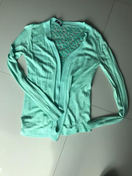 Hermoso Suéter Verde Talla Small