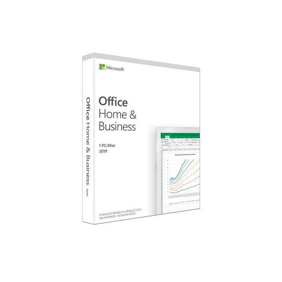 Suíte De Aplicativos De Escritório - Microsoft Office Home & Business 2019 32/64 Bits Fpp - T5d-03241