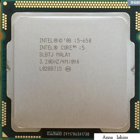 Processador Intel Core I5 650 4m Cache 3.20ghz Lga 1156 Nfe