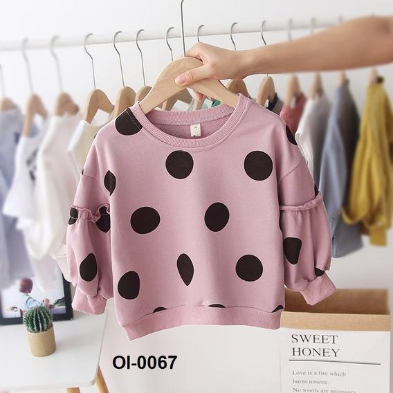 Suéter Para Niña Polka Dots