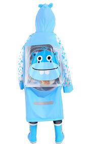 Impermeable Para Niños Chango Azul Aircee
