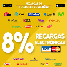 Vende Recargas Electrónicas De Todas Las Compañías