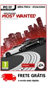 Need For Speed Most Wanted Pc 2012 Nova Versão Mídia Física