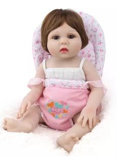 Muñecas Reborn Bebe Real De Silicona Entrega Inmediata