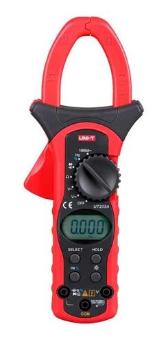 Pinza Amperimétrica Digital Ut-205a Uni-t