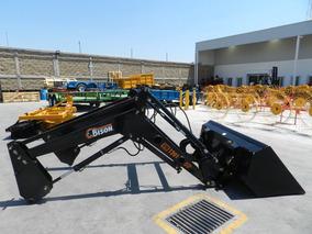 Pala Cargadora De 1200 Kg Bison Modelo 1201-dtp Para Tractor