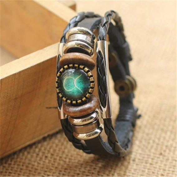 Pulseira Bracelete Signos Zodíaco Constelação Horóscopo