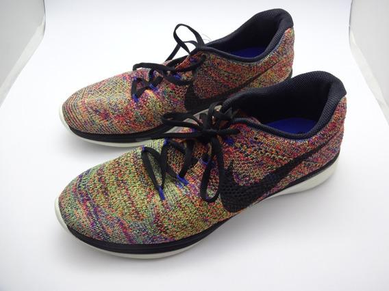 Tênis Masculino Nike Lunarlon Colorido 29 Cm Lindo!!