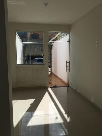 Casa Geminada Com 2 Quartos Para Comprar No Renascer Em Betim/mg - Mil55