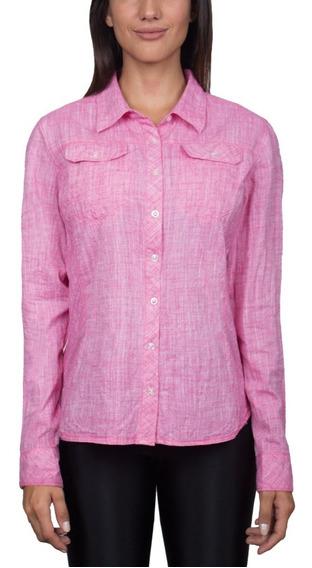 Camisa Mujer Marbella Montagne Urbana Verano Algodon 100%