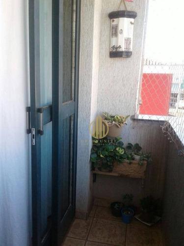 Imagem 1 de 16 de Apartamento Dois Dormitórios Com Suíte - Ap1193