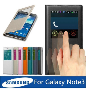 Case S-view Galasy Note 3 Com Chip Sleep
