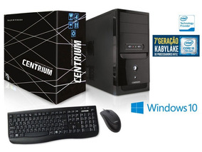 Computador Intel Core I5-7400 3ghz 4gb Ddr4 500gb Win 10