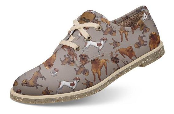 Sapato Casual Usthemp Legend Vegano Dog Srd Vira-lata