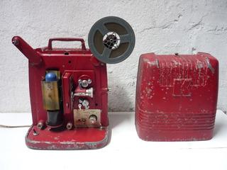 Antiguo Proyector 8 Mm, Coleccionable Y Decorativo