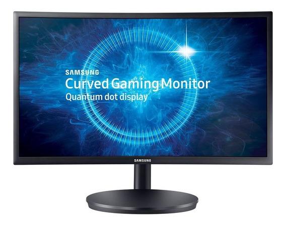 Monitor Gamer Samsung Widescreen Tela 23.5 Lcd Full Hd