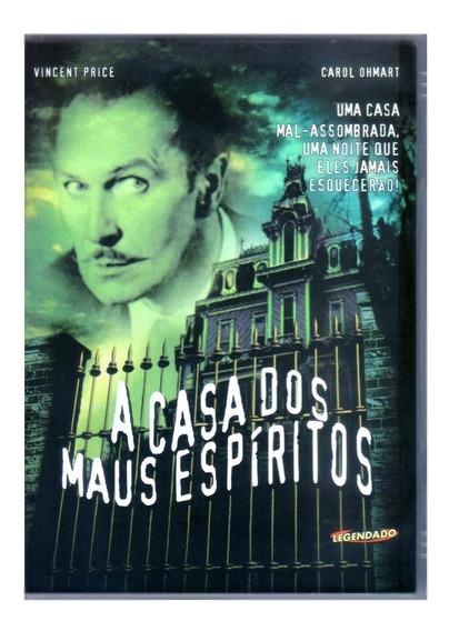 A Casa Dos Maus Espiritos Terror Dvd Novo Original Lacrado