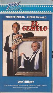 El Gemelo Vhs Pierre Richard Le Jumeau 1984