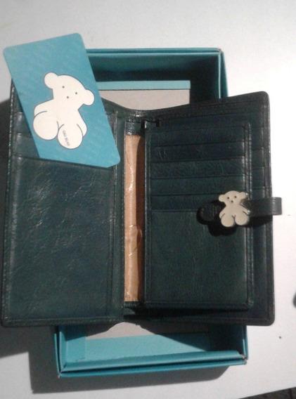 Monedero Qq Bear Original Usado Con Su Caja