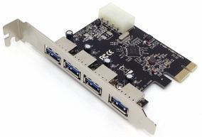 03 Placa Pci-ex Usb 3.0 5gbps Com 4 Portas Dp-43