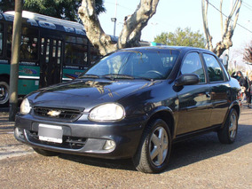 Chevrolet Corsa Gls Full Impecable Azul 2009