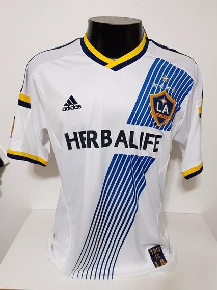 Camisa La Galaxy Home 15-16 Gerrard 8 Patch Mls Importada